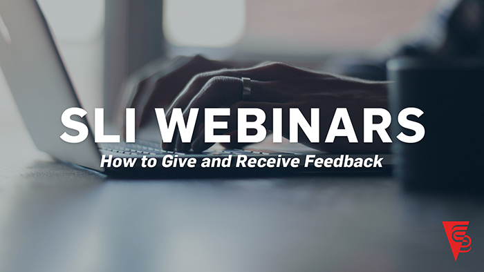How to Give and Receive Feedback - Feedback is a gift. When we receive it, our self-knowledge expands. When we give it, it's an opportunity to show our teams we genuinely care about them. This webinar will answer questions about what's required to receive feedback and some specific steps to give feedback. Art Barter, SLI founder and CEO, discusses the power of giving and receiving ongoing feedback in a servant-led culture.