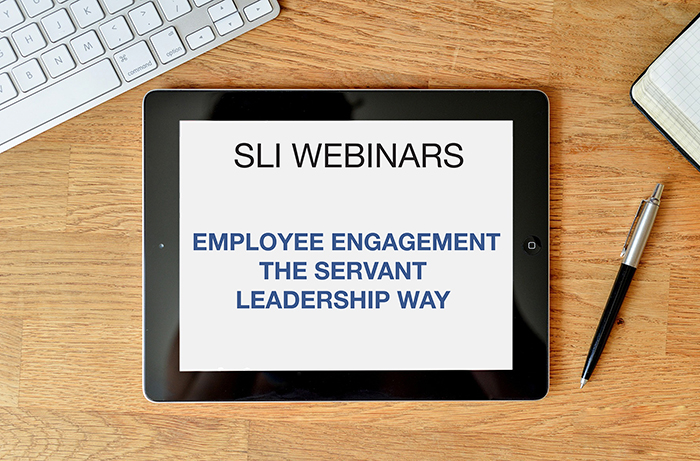 Employee Engagement the Servant Leadership Way - Listen in as SLI CEO Art Barter and Carol Malinski talk over the topic of Employee Engagement and how servant leaders can approach it.