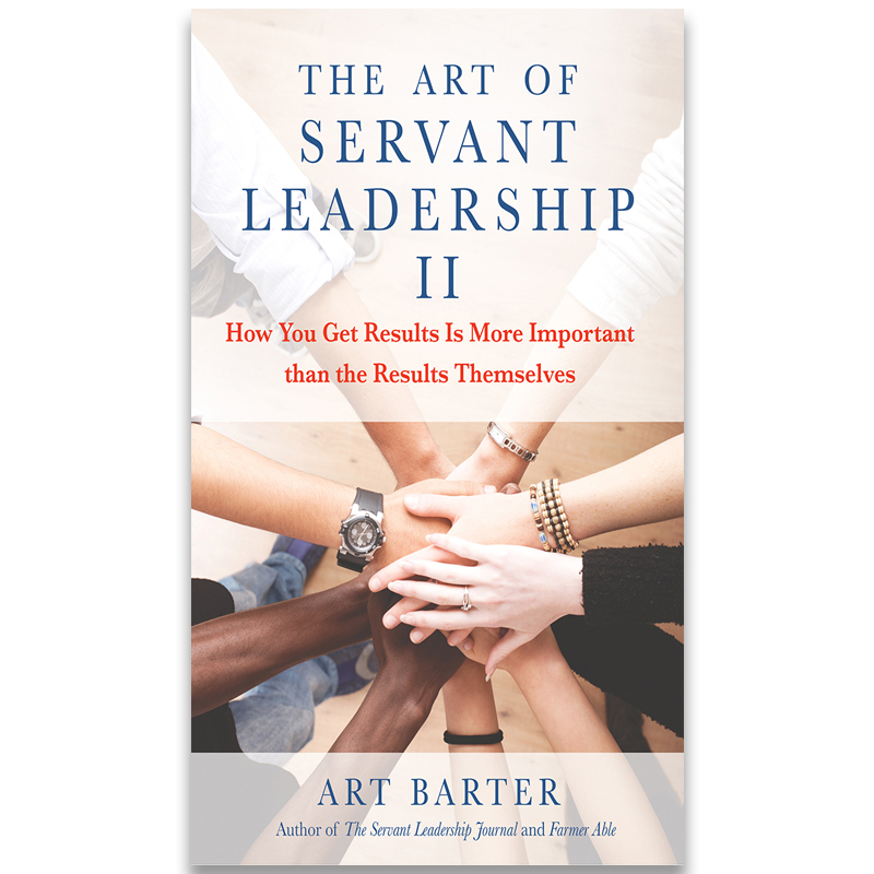 The Art of Servant Leadership II - How You Get Results Is More Important than the Results Themselves.Not many industry revolutions begin with a typical married couple who risk everything to do something they've never done before. But that is exactly what Art and Lori Barter did in 2004 when they purchased Datron World Communications. The husband and wife knew everything about the power of strong values and the lack of values in modern corporations, but nothing about running a large-scale business that was -- at the time -- losing money. It was a test of faith and perseverance unlike any other. Everything from financial security to spiritual fulfillment was on the line.The Art of Servant Leadership II instructs modern business leaders on how to transform their businesses to servant-led organizations that prioritize integrity over profitability and never-ending quests to accumulate power. By integrating the servant-led paradigm into their inner lives and professional thinking, today's leaders can revolutionize heartless corporate strategies that reward the few at the expense of the many. Today, Datron World Communications is a multimillion-dollar, multicultural, international company with customers in more than eighty countries. That success is the result of the lessons taught in The Art of Servant Leadership II and proof that serving others with compassion and humility brings unprecedented rewards.