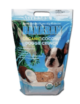 Banaban coconut crunch is a hit with both humans and dogs in our house!
