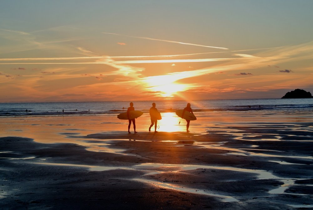 Sunset Surfers, Polzeath