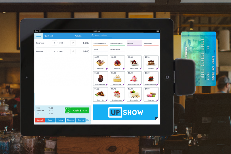 Connected Commerce - Quantify and optimize performance of all social media incentives by connecting UPshow directly to your POS.