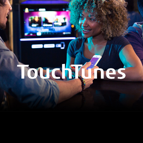TouchTunes   is the largest in-venue interactive music and entertainment platform.  UPshow powers TouchTunesTV , a Social TV experience that connects to the jukebox.