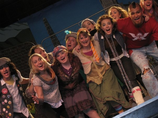 (community theater production of  GODSPELL)
