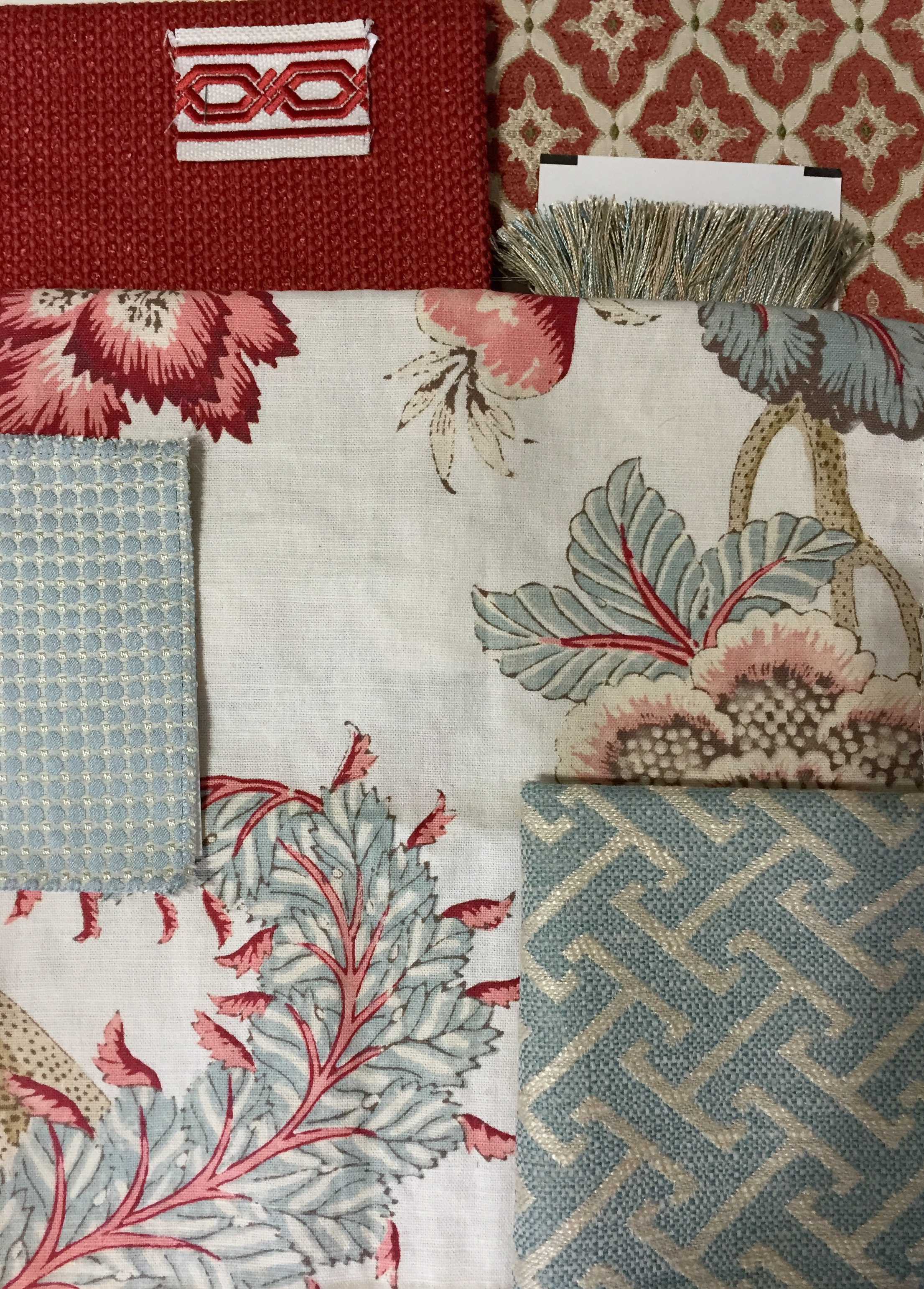 Jennifer Taylor Design - Dillard Living Room Fabrics