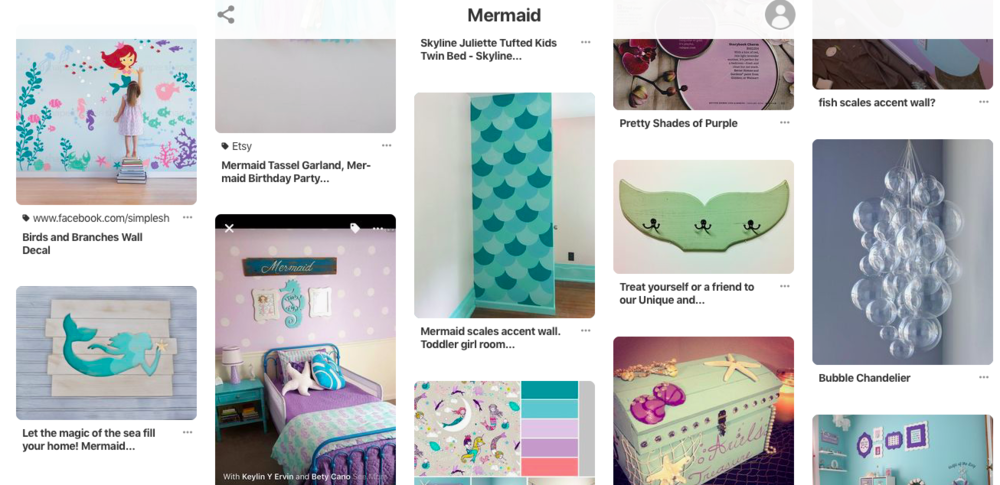 Jennifer Taylor Design - Mermaid Pinterest Board