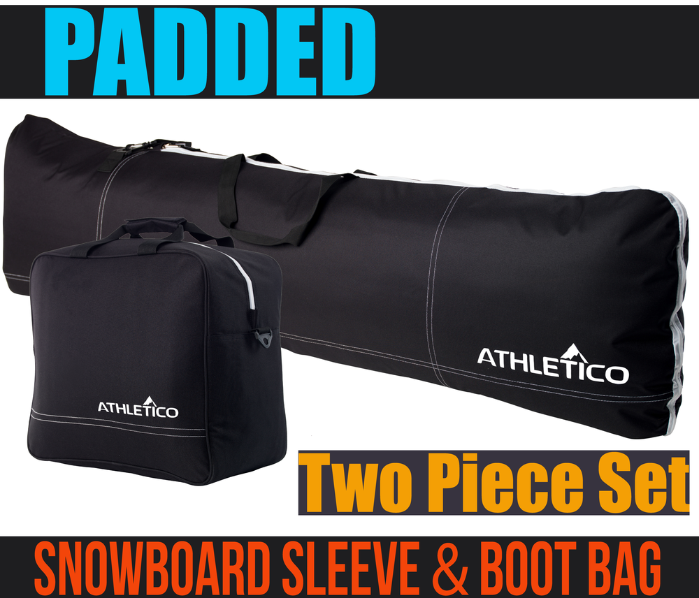 Padded - Snowboard & Boot BagCombo