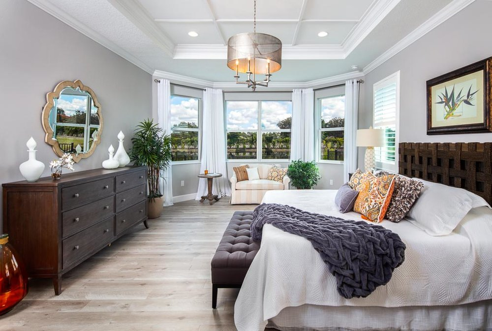 Lakefront Views from Master Bedroom at Sandhill Lake Private Community