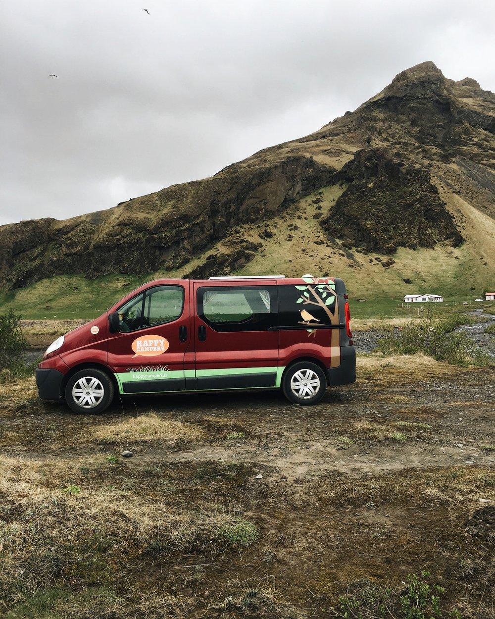 EXPLORING ICELAND IN A CAMPER VAN -