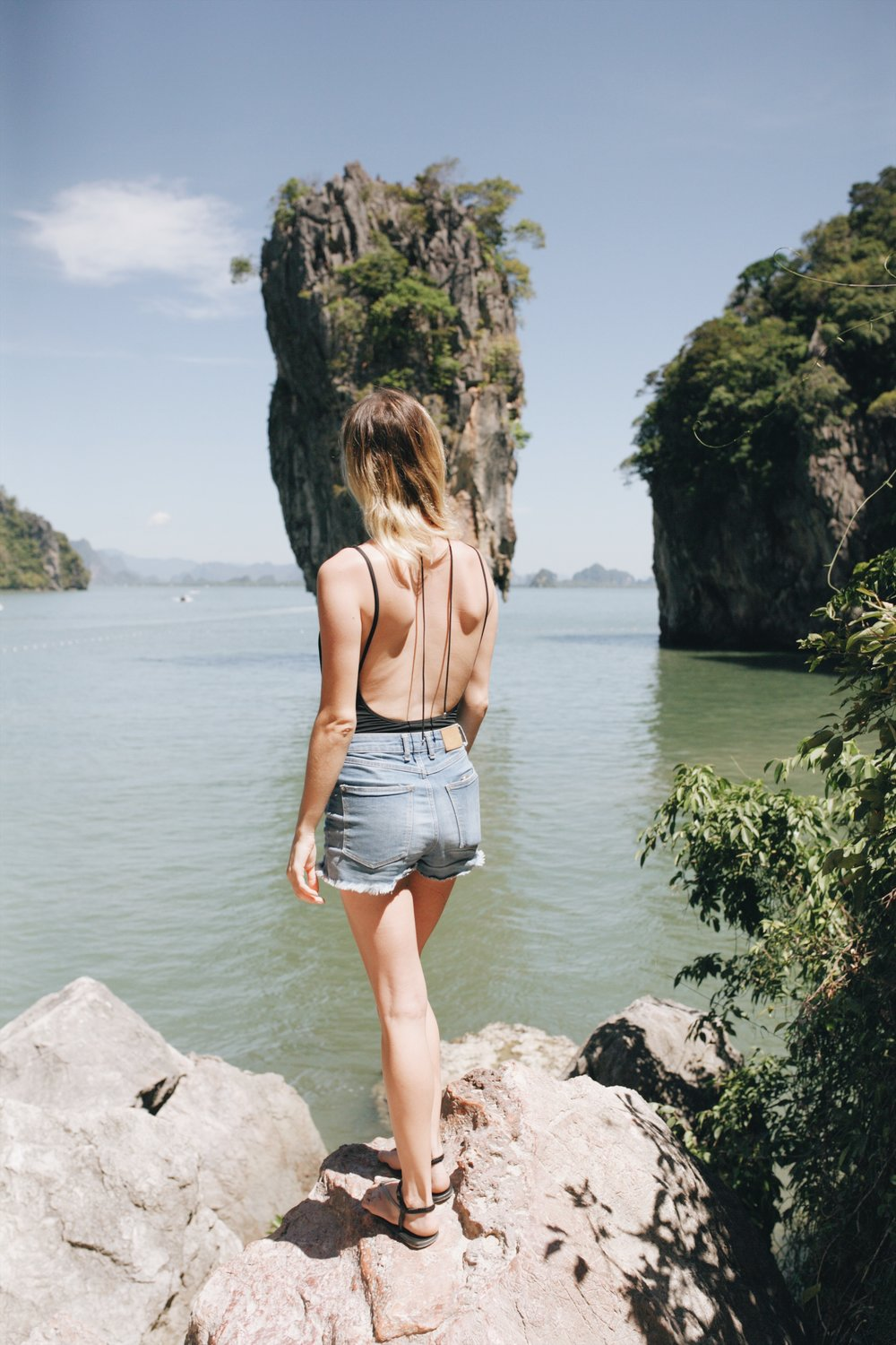 """also known as """"james bond island"""" due to its appearance in a film"""