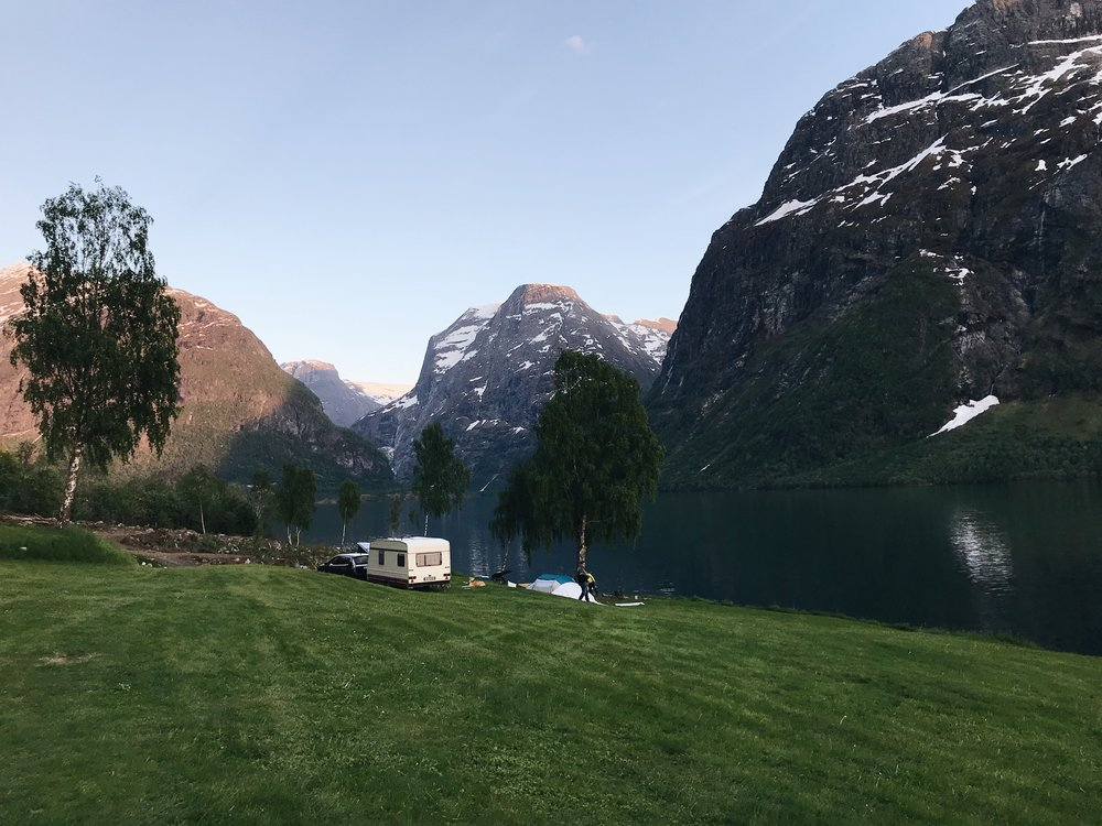The Best Campgrounds of Fjord Norway -