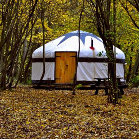 Back to basics in een Yurt