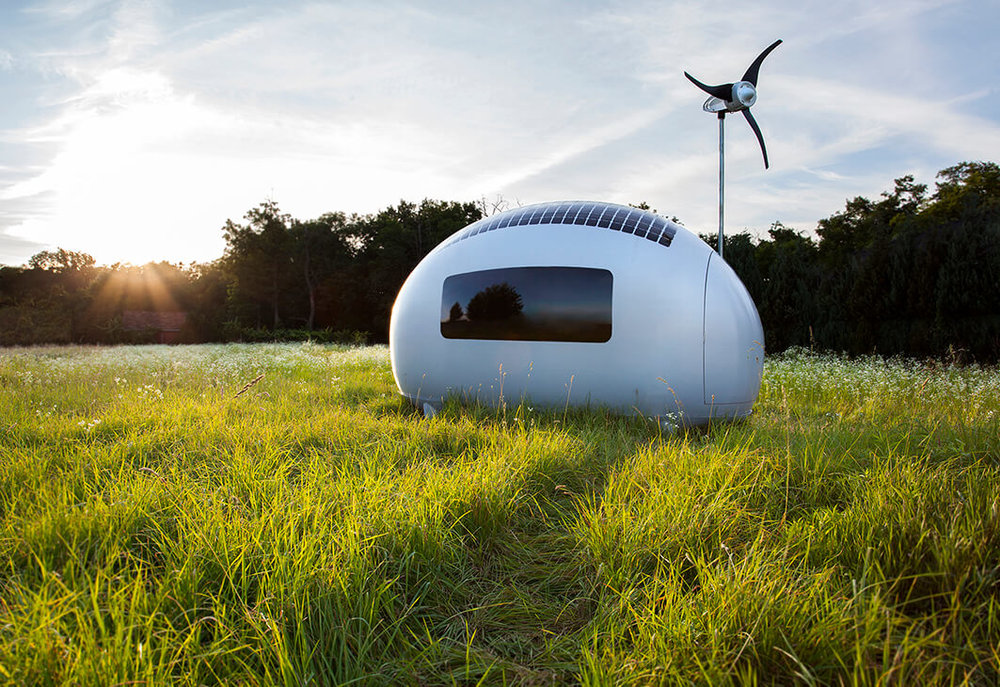 Volledig off the grid in een Ecocapsule?