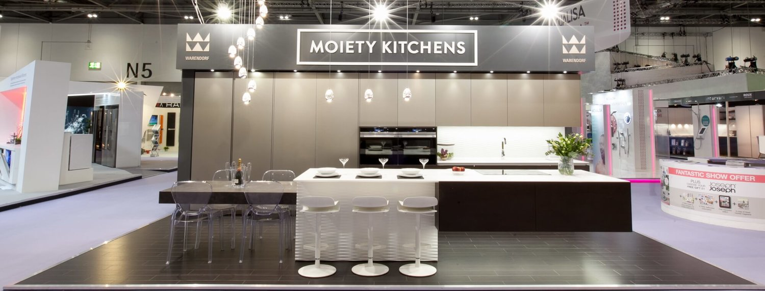 a grand entrance at grand designs — moiety kitchens