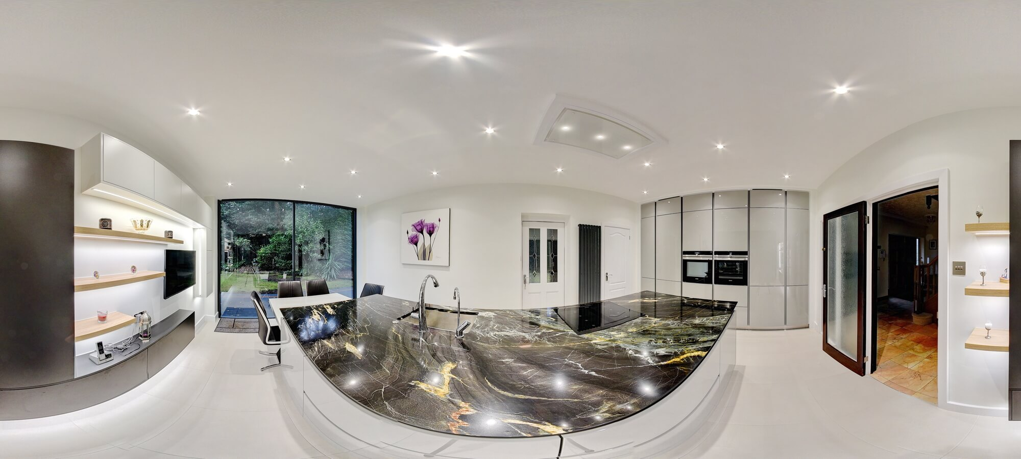 Admirable View Our Kitchens In 360 Degrees Moiety Kitchens Interior Design Ideas Clesiryabchikinfo