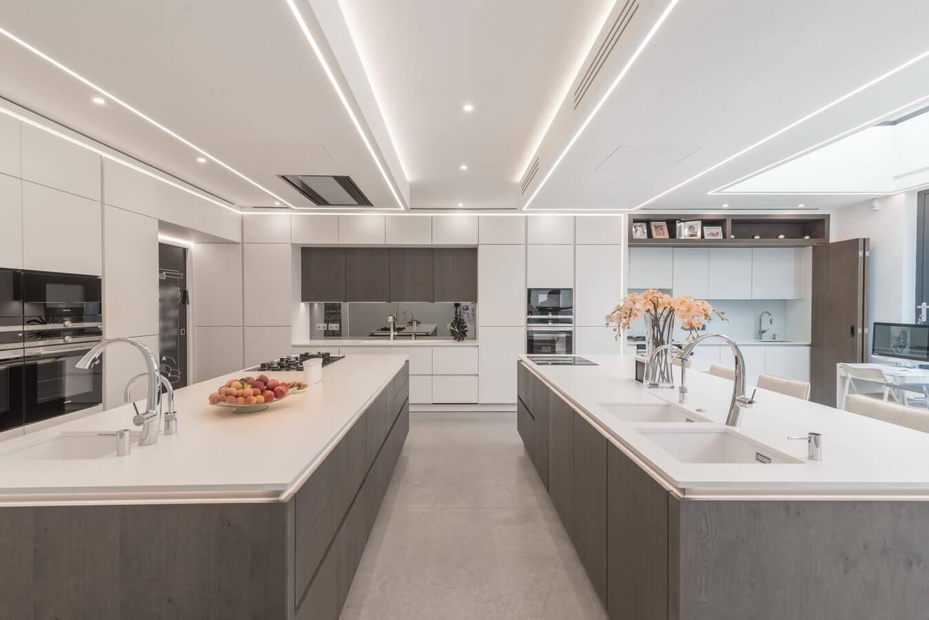Modern handleless next125 kosher kitchen jpg