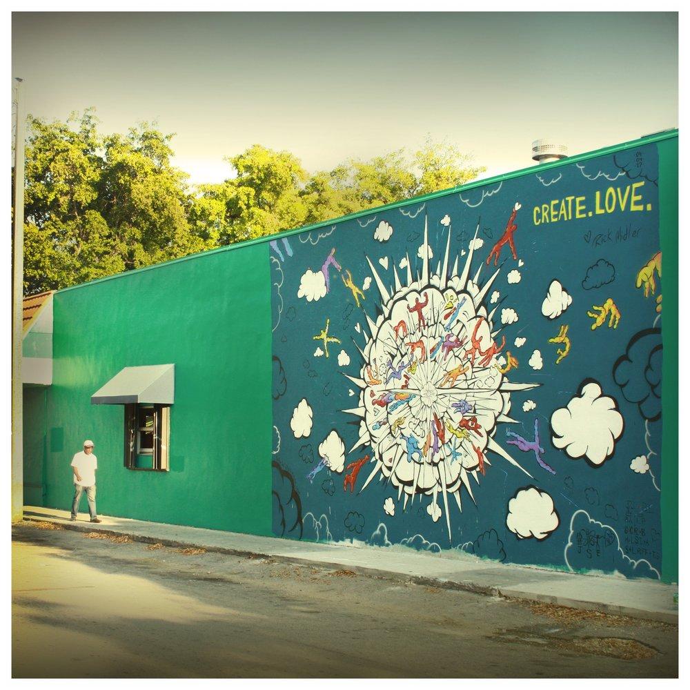 """Big Bang Boom"" The Little River Mural"
