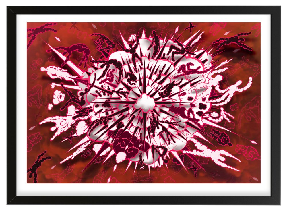 Big Bang Boom - Black Cherry Print