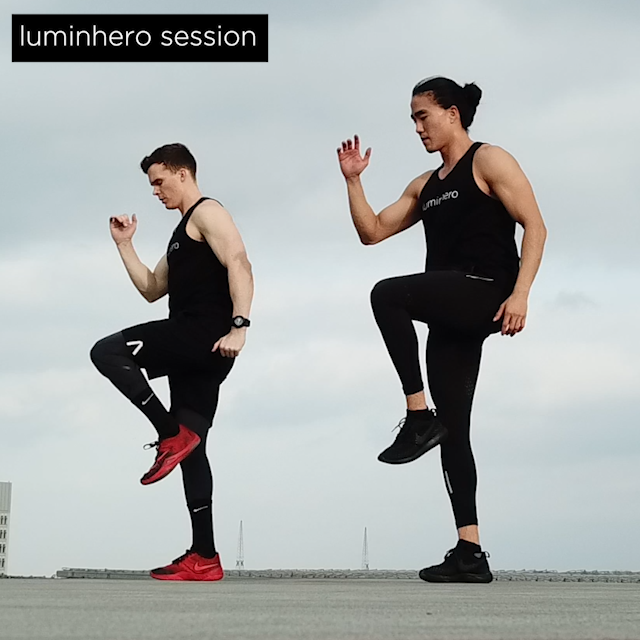 SESSIONS - Featuring some of the most influential fitness and wellness personalities, we give you new ideas for your wellness journey. Follow us on @luminhero on Instagram