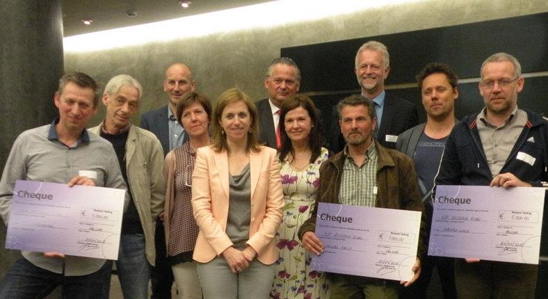 Groepsfoto laureaten (foto credit VILT)