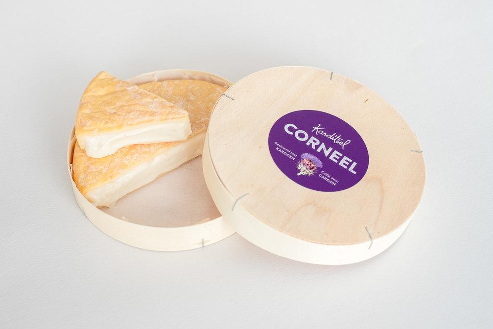 Corneel is een kardoenkaas van  K  aasmakerij Karditsel