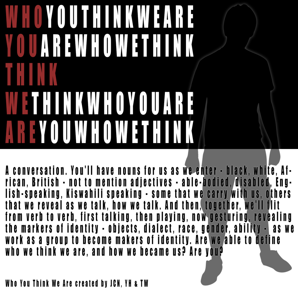 JCN, YH & TW: Who You Think We Are