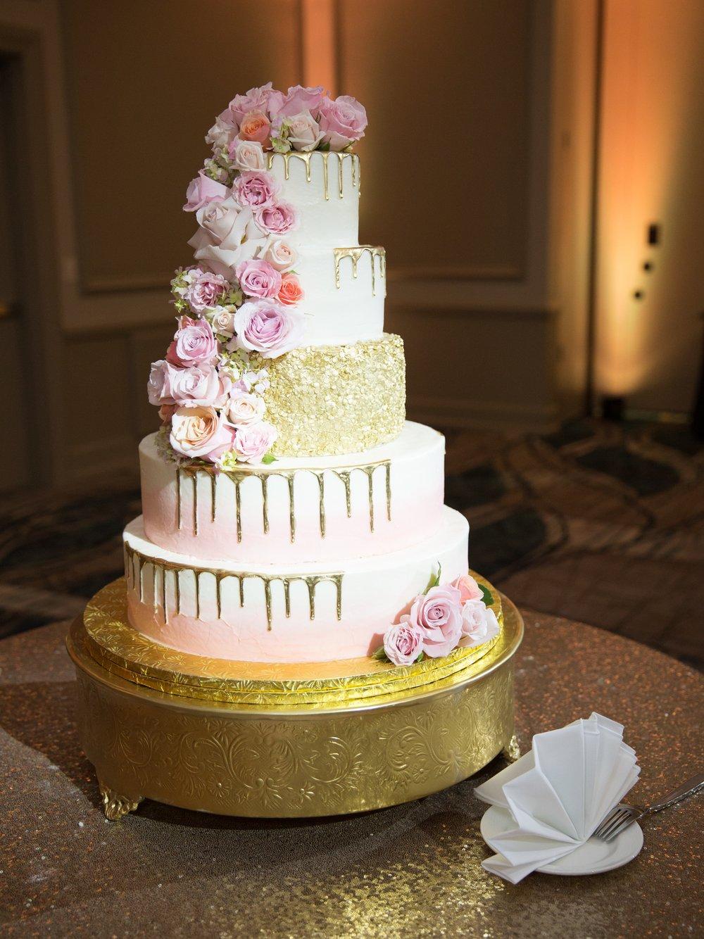 Cake Rockwall Wedding Lanie Lucas