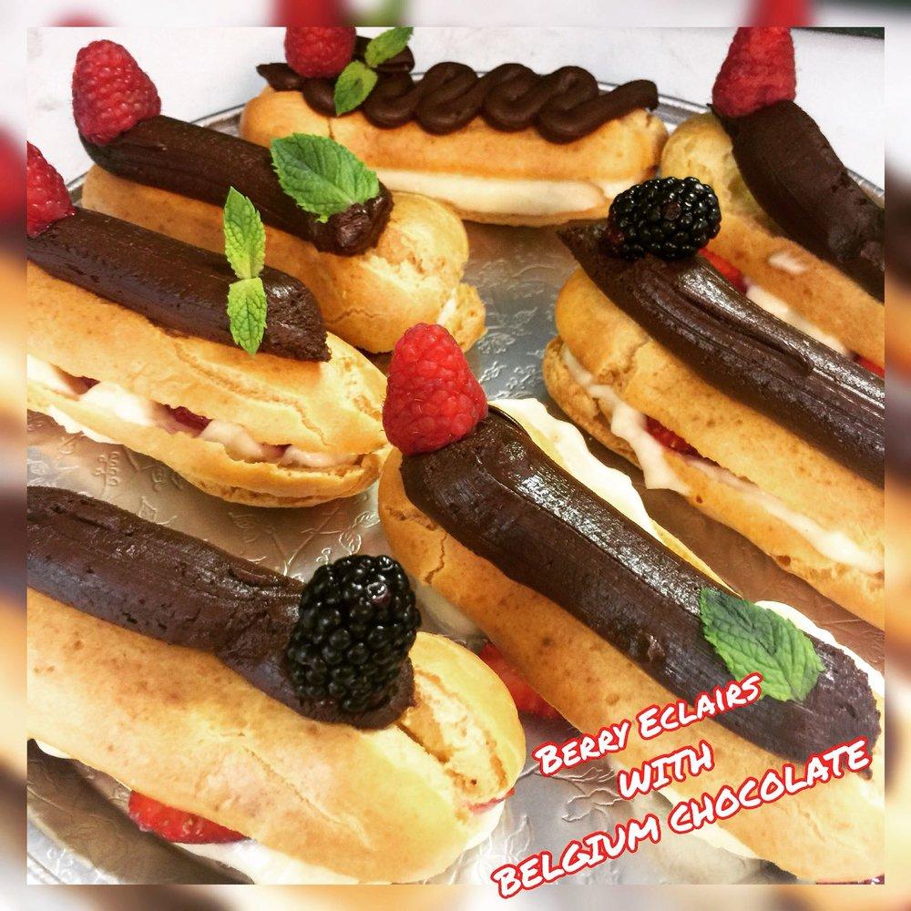 Belgian Chocolate#BERRY#ECLAIR