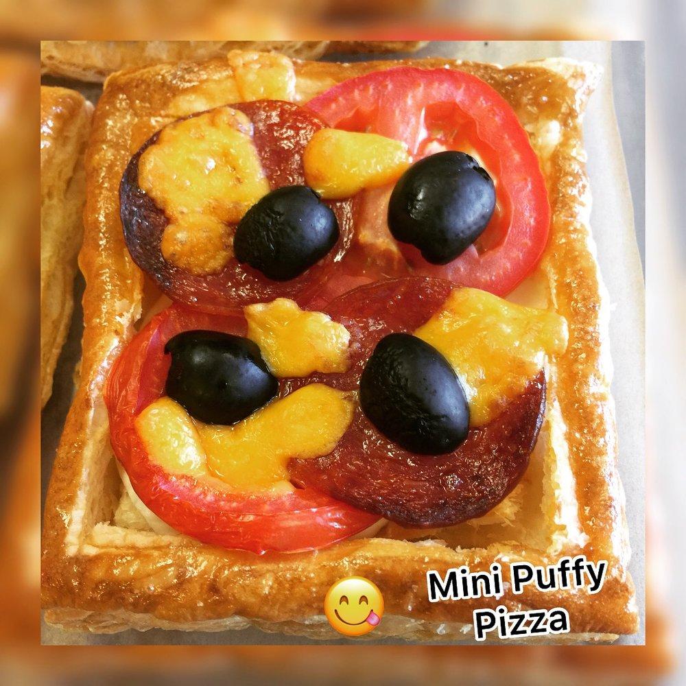 MINI PUFFY#PEPPERONI#PIZZA