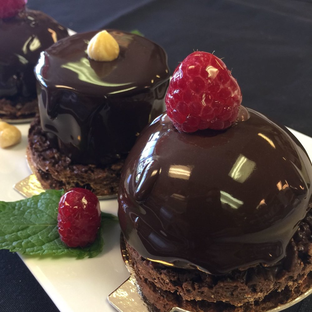Belgian Chocolate #Raspberry, Hazelnut#FIORRE MOUSSE