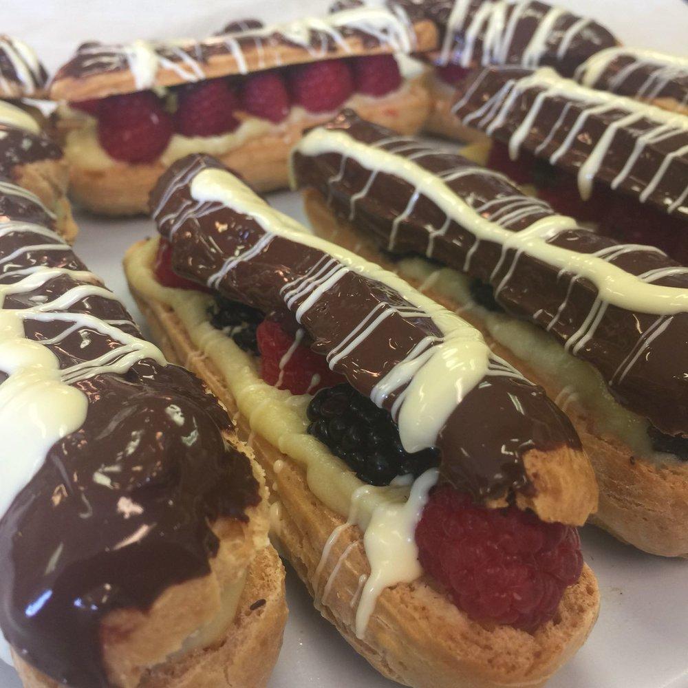 Belgian Chocolate#RASPBERRY#ECLAIR