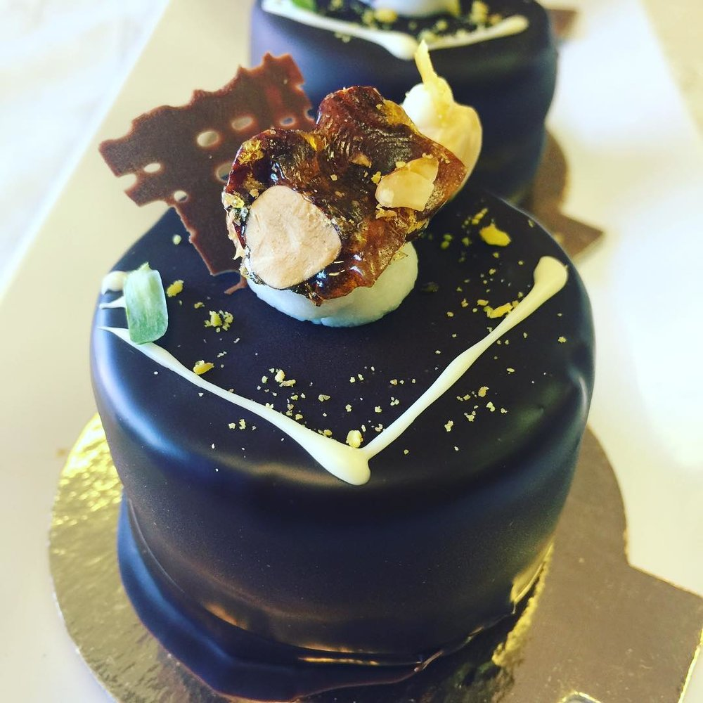 RASPBERRY, MANGO # PASSION FRUIT #Chocolate Mousse ENTREMET
