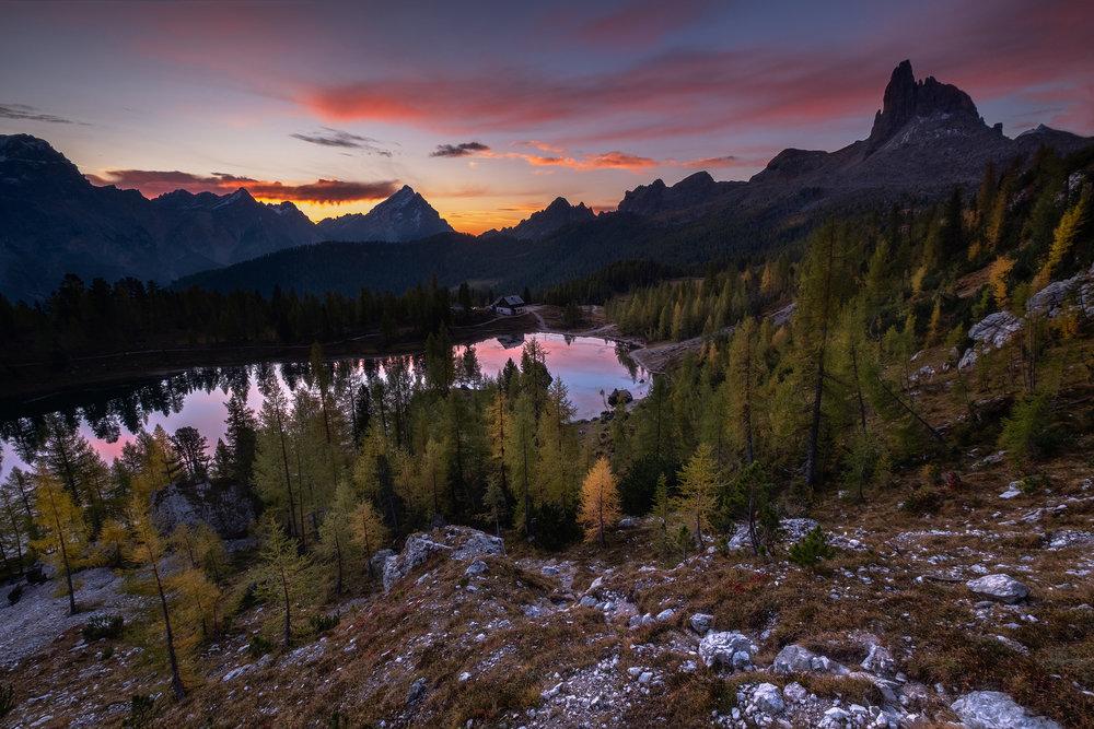 Croda da Lago Sunrise One_1.jpg