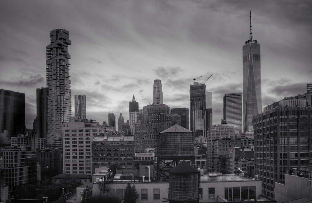 Lower Manhattan from TriBeCa. New York City. 2016.
