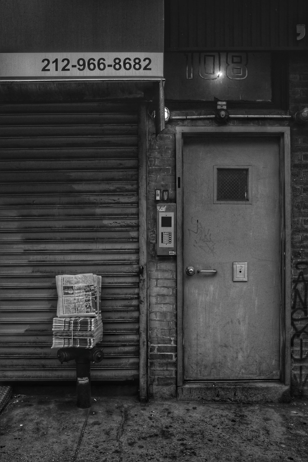 Bowery. Chinatown. New York City. 2017.