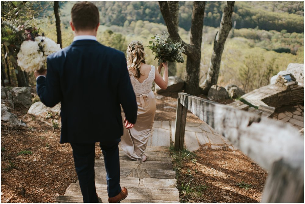 Roanoke Mountain Elopement Downtown Roanoke, Century Plaza Wedding Photographer | www.riversandroadsphotography.com