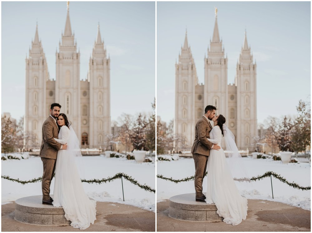 modern portraits at the salt lake city temple www.riversandroadsphotography.com