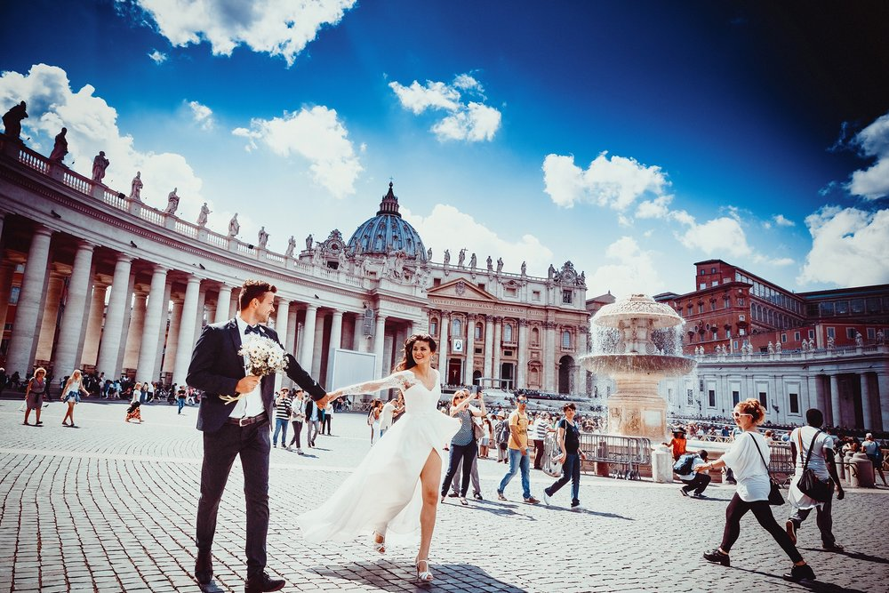 Urban Wedding in Rome
