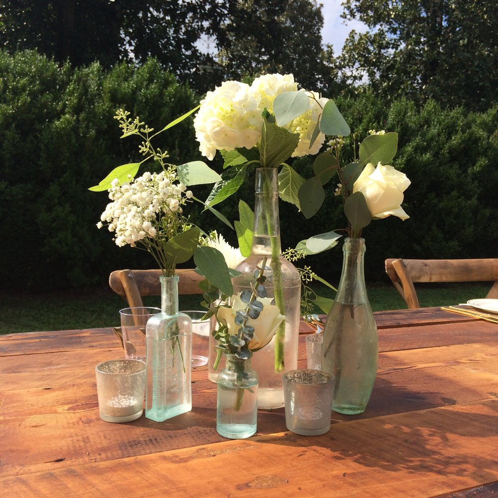 Vintage Bottles, Vases + Other Funky Receptacles