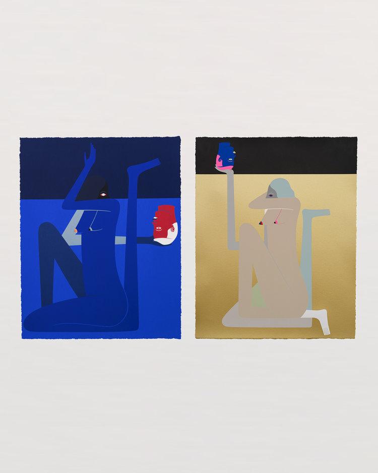 Richard Colman<br> <em>Cold Shoulder and Shame Diptych</em><span>Sold Out</span>