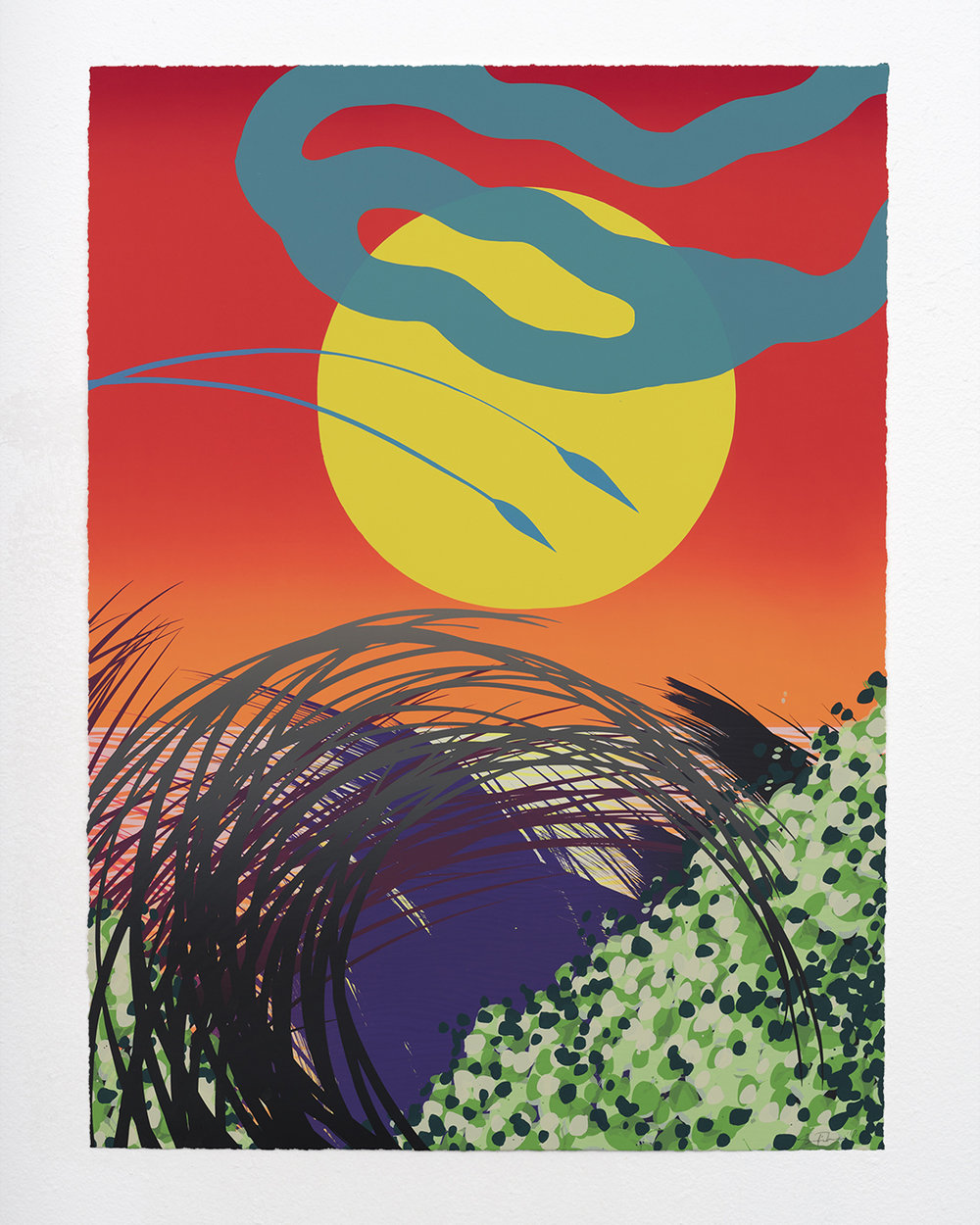 Sam FriedmanBeach Monoprint Series
