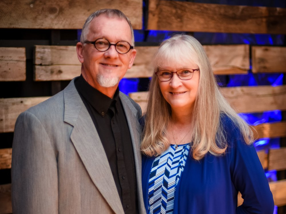 Matt and Karen Pruett    Matt and Karen are the Senior Leaders of Faith Community Church. Matt is the lead elder and senior pastor and Karen is a part of the general administrative team.