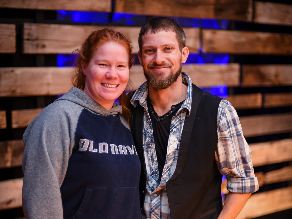 Travis and Mel Black    Travis serves as A/V director, speaks on Sundays and at various events. He serves on our worship leadership team.