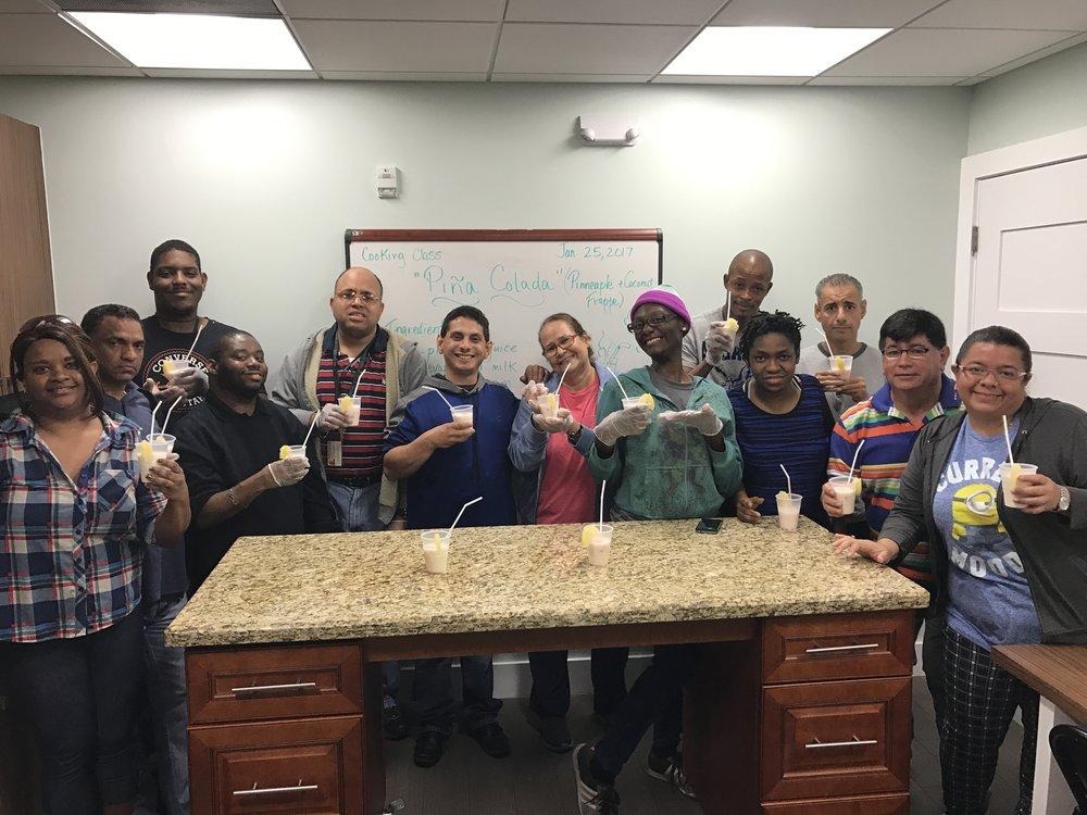 Deaf Cooking Class