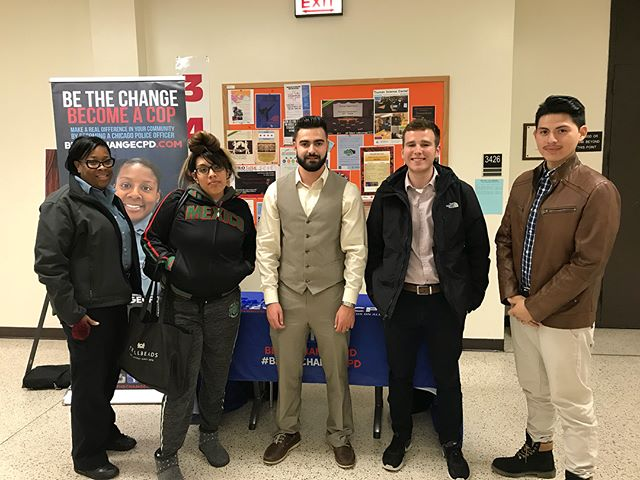 "The first ""prep for change"" event was a  great success! Students were able to get real questions answered by CPD's best officers! Make sure you rsvp for the next event at the link. http://bethechangecpd.eventbrite.com"