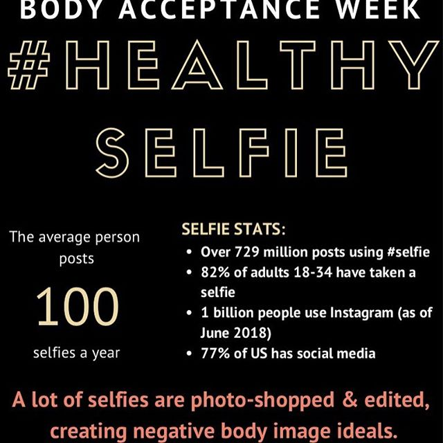 Body Acceptance Week is next week, Tigers! Celebrate with us by posting photos of you doing something positive for your body and tagging us, @lsusportpsych, and #LoveYourSelfie to be featured on our page! 💛💜