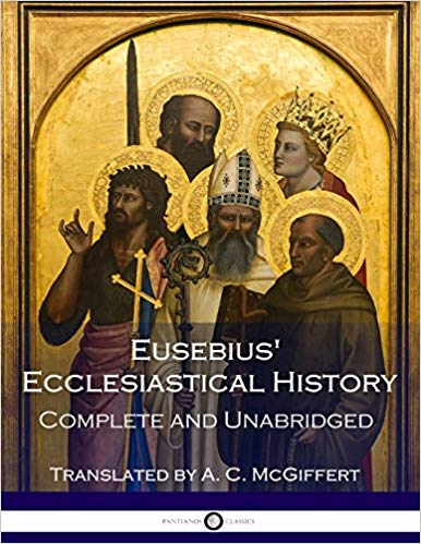 Eusebius of Caesarea's (4th Century A.D.)  Church History    Eusebius' Ecclesiastical History is one of the first comprehensive, chronologically arranged histories ever written about the Christian church, and it is consulted by scholars and historians to this day.   Beginning with the familiar story of Jesus Christ and the Gospels, this  complex and ambitious text attempts to organize and outline the history  of the Christian teachers, the means by which bishops succeeded one  another, the outbreak and suppression of various heresies, the history  of the Jewish people, and the numerous martyrs who emerged and left  their mark during the first three centuries of Christianity.