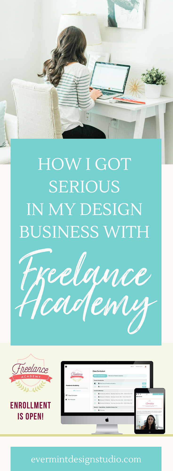 How I Got Serious in My Design Business with Freelance Academy