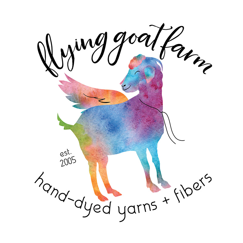 Flying Goat Farm - Logo design
