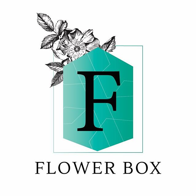 "Love when a logo refresh comes together so seamlessly! ✨ Flower Box @flowerboxminot is the go to florist in Minot, ND and new ownership meant it was a great time to re-brand. The end result is a strong but classic ""F"" surrounded by a more modern geometric shape, and accented with a vintage floral. The end result is a timeless logo mark that will translate well with signage, tags, business cards as well as look stunning digitally. 🍃🌿💐🌷"